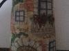 Tegolino decorato a mano